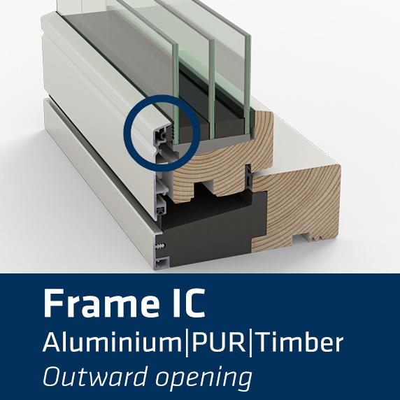 Idealcombi Frame IC window chop sample